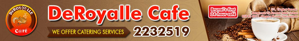 DeroyalleCafe Banner