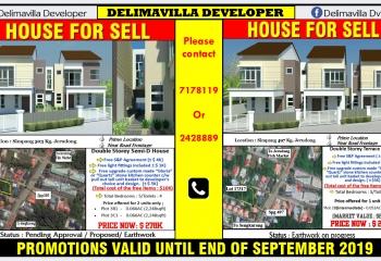 HOUSE FOR SALE (Delimavilla Developer)