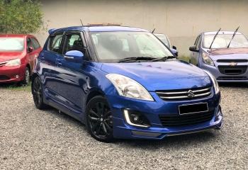 Suzuki Swift 2017 (Blue)