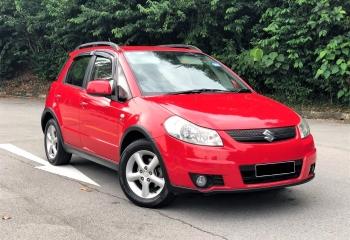 Suzuki SX4 2007 (Red)