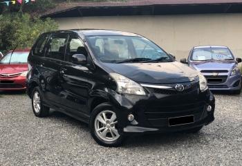 Toyota Avanza 2013 (Black)