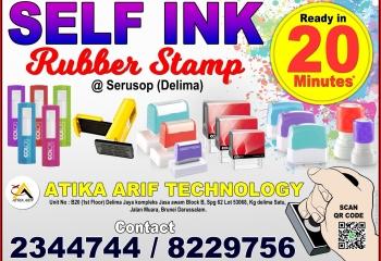 SELFINK RUBBER STAMP – 20 MINUTES