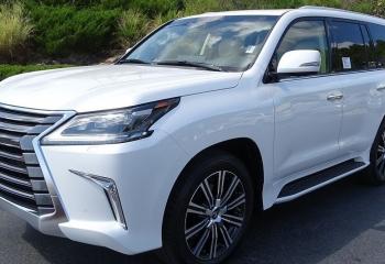 LX570 2019 Lexus – Under warranty