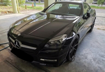 Mercedes benz SLK200 AMG sport package