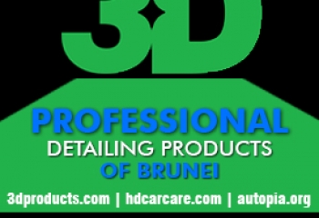 3D PROFESSIONAL DETAILING PRODUCTS OF BRUNEI