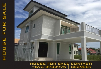 HOUSE FOR SALE @ JERUDONG