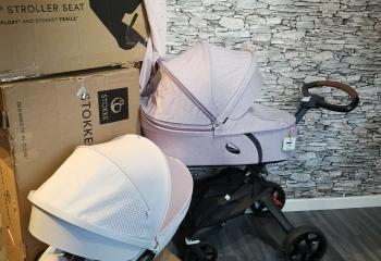 brand new boxed Stokke Xplory V6  Warranty stroller  system