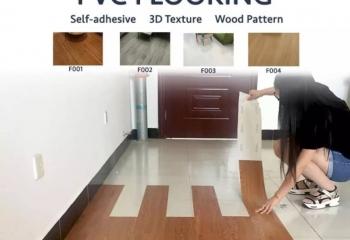 Murah Vinyl flooring (self-Adhensive)