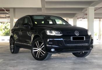 2012 Volkswagen Touareg V6 TDI