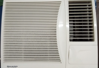 2nd Hand Window Aircond for Sales (1HP for BND150.00, 1.5HP for BND200.00) Take two for BND300.00
