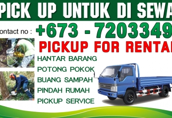 PICKUP SERVICE IN BRUNEI – LOW PRICE