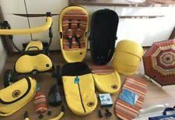 New! Stroller Mima Xari Yellow